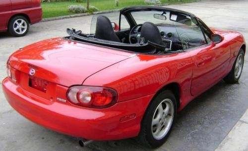 Vendo Mazda Miata Convertible Rojo D A Ab