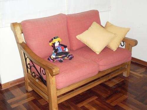 Muebles en madera y fierro