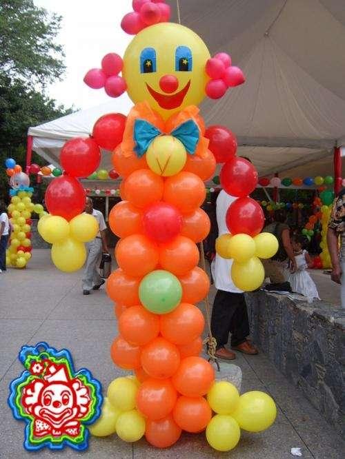 Payasitos de globo imagui for Ornamentacion con globos