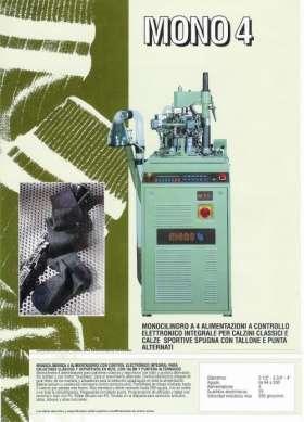 Fotos de maquinas usadas para fabricar medias