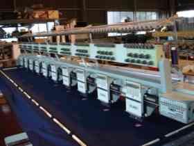 Fotos de maquina bordadora TAJIMA REPOTENCIADA DE 9 AGUJAS , 10 CABEZALES