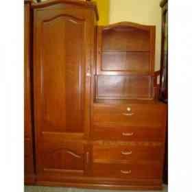 Vendo ropero comoda estilo en l de cedro usado no for Muebles usados en lima