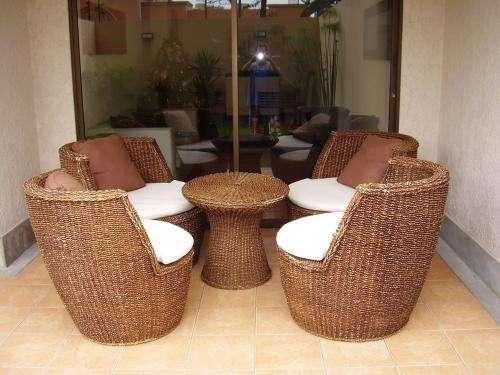 Muebles de mimbre en Lima, Perú - Muebles