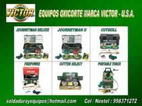 Fotos de EQUIPOS DE OXICORTE VICTOR