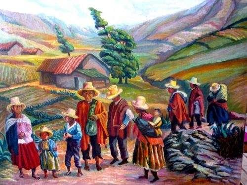 Arte peruano moderno y contemporáneo. pintura moderna, europea y latinoamericana. escultura peruana.