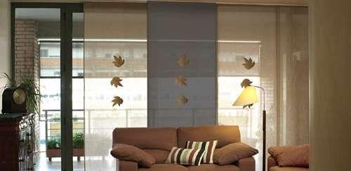 ideas de diseo montaje de estores ikea japoneses enrollables with cortinas paneles japoneses ikea