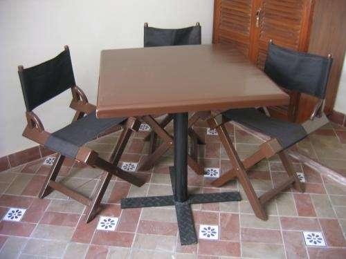 Fotos de mesas y sillas plegables lima muebles - Mesas escritorio plegables ...