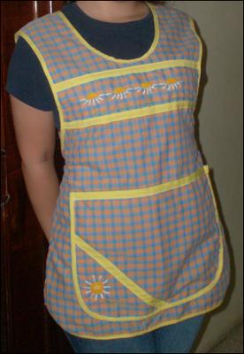 venta de mandiles de cocina colores diversos lima ropa