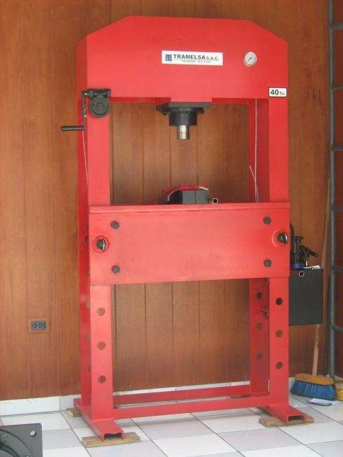 Fotos de Prensas hidraulicas 2