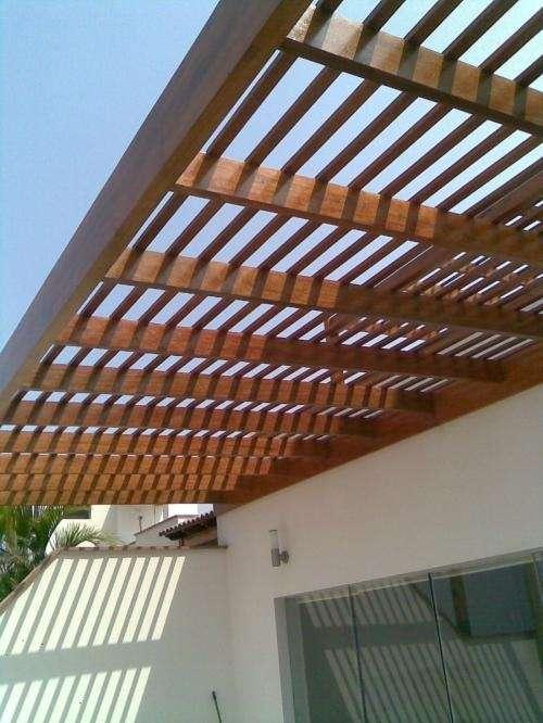 Fotos de techos de madera lima servicio t cnico - Fotos techos de madera ...