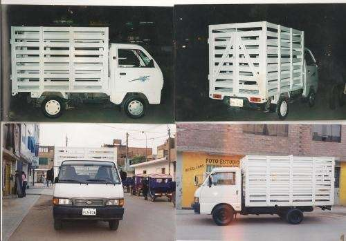 Barandas , carrocerias metalicas para camionetas y camiones