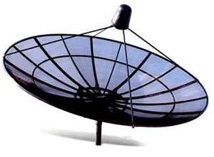 Antenas parabolicas 3.10 mts. banda c de malla