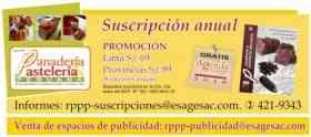 Fotos de Revista Panaderia y Pasteleria Peruana