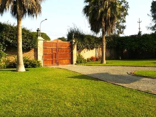 Fotos de alquilo casa de campo en lurin lima casa chalet - Jardines para casas de campo ...