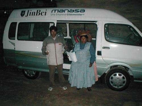 MINIBUS JIMBEI DE CARGA Y DE PASAJEROS OFERTAS