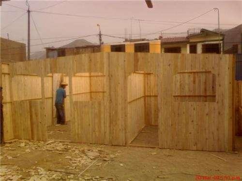 Fotos de modulos de madera lima otros - Modulos de madera ...