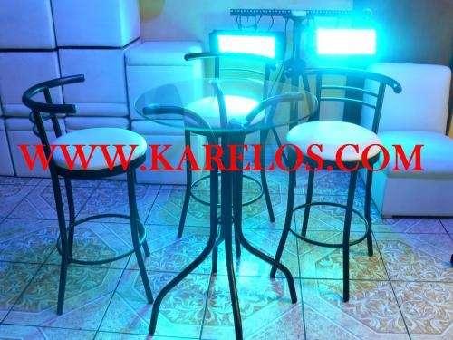 Fotos de alquiler de sillas altas mesas de bar para fiestas expectaculares lima otros - Mesas altas de bar ...