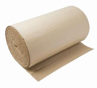 Carton corrugado para proteger pisos y paredes en acabados.