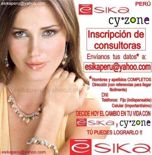 Ésika perú: inscripcion directa de consultoras aquí!!