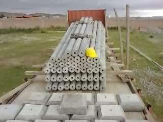 Fabrica de postes  de concreto