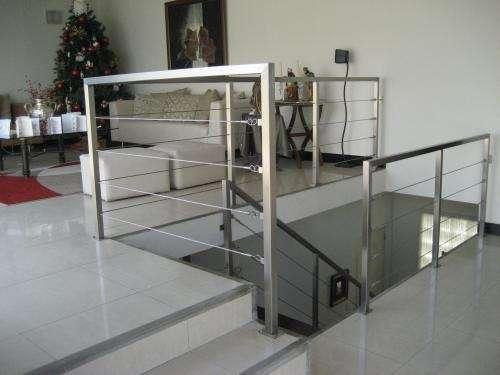 Fotos de Escaleras metalicas, barandas de madera, barandas metalicas acero inoxidable. 1