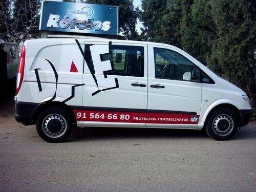 Publicidad en vehiculos, rotulado en vinil