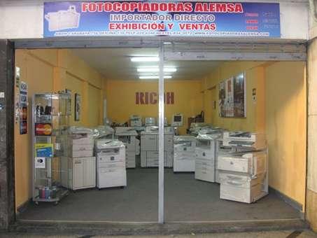 Venta de fotocopiadoras ricoh