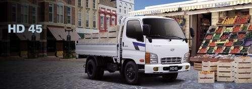 Camiones hyundai hd45; hd65; hd78