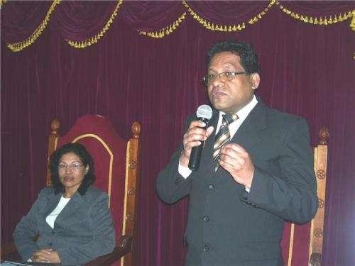 Oratoria y liderazgo: dr. walter davila