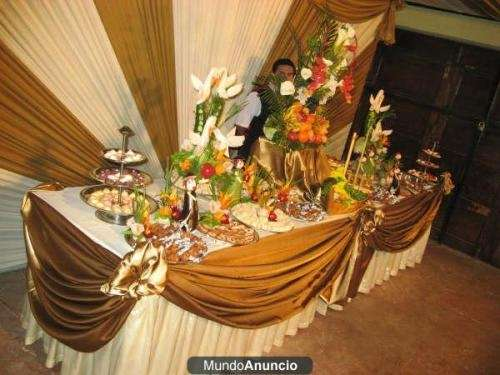 Buffet para matrimonio imagui - Decoracion buffet ...