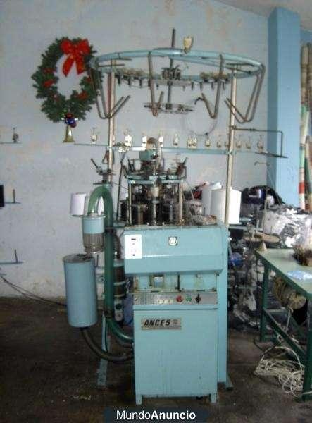 Maquina tejedoras de medias