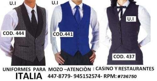 Fotos de Chalecos  de  mozo , azafatas. uniformes  para  casinos 2