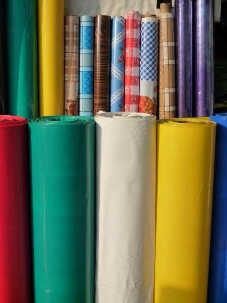 Mangas de plástico a colores de buena cálidad