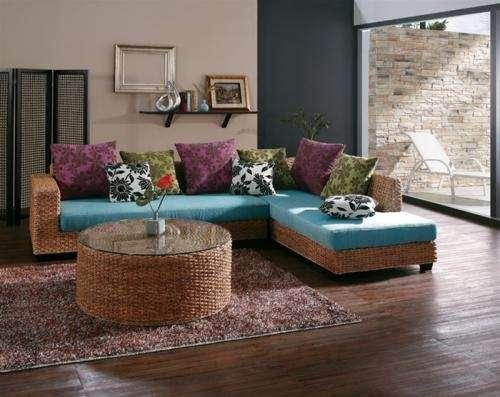 Muebles en rattan mimbre esterilla ca a de bambu y - Muebles de cana de bambu ...