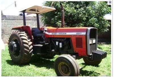 Vendo tractor mf 297 - rastra y rufa