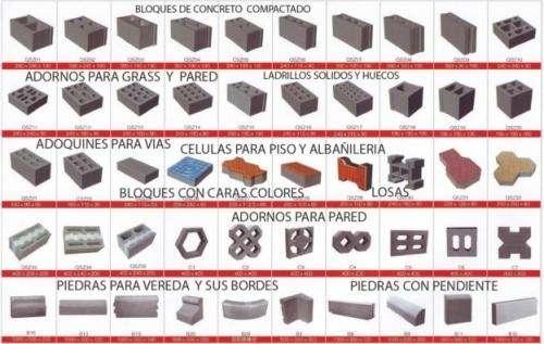 Fotos de ladrillos maquinas ladrilleras en tucum n for Adoquines de cemento