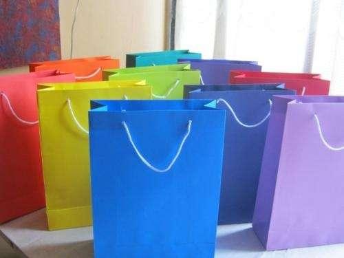 Bolsitas de cartulina imagui - Bolsa de papel para regalo ...