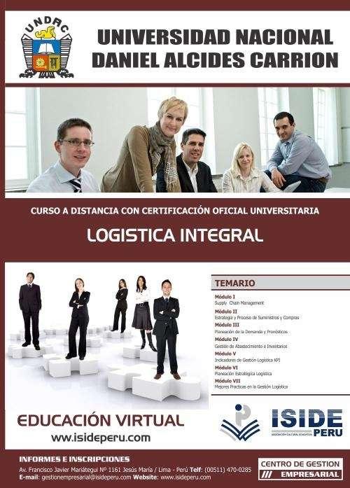 Curso de especializacion a distancia en logistica integral
