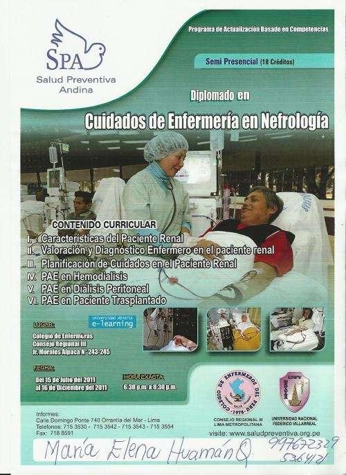 Cuidados de enfermeria en nefrologia