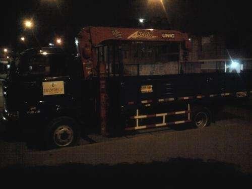Alquiler camion grua pluma 6 tn - transdeca sac