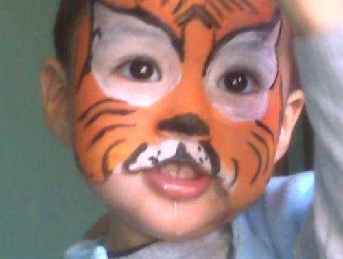 CARITAS PINTADAS tigre - Imagui