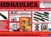 Hidraulica, bombas, valvulas, cilindros hidraulicos.