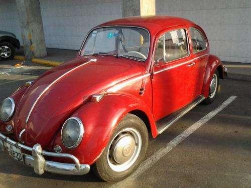 Volkswagen escarabajo alemán 1966 de colección