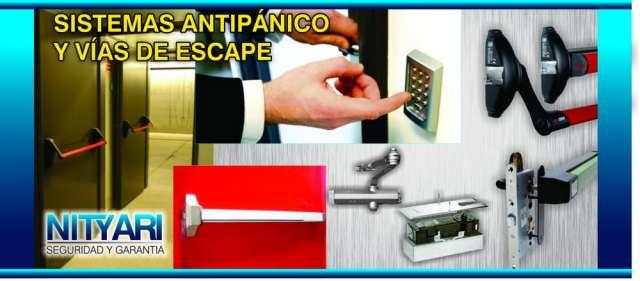 Instalación y venta de barras antipánico y cierrapuertas