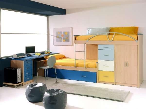 Camarotes en madera modernos imagui - Cama para espacios reducidos ...