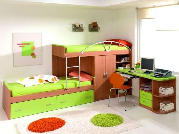 Camarotes en madera modernos para niños - Imagui