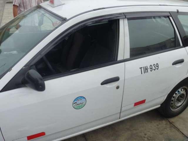 Taxi urbano todo lima y callao (permiso).
