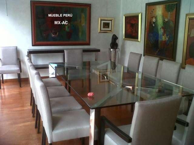 Muebles vidrio y acero 20170829053246 for Muebles y comedores modernos