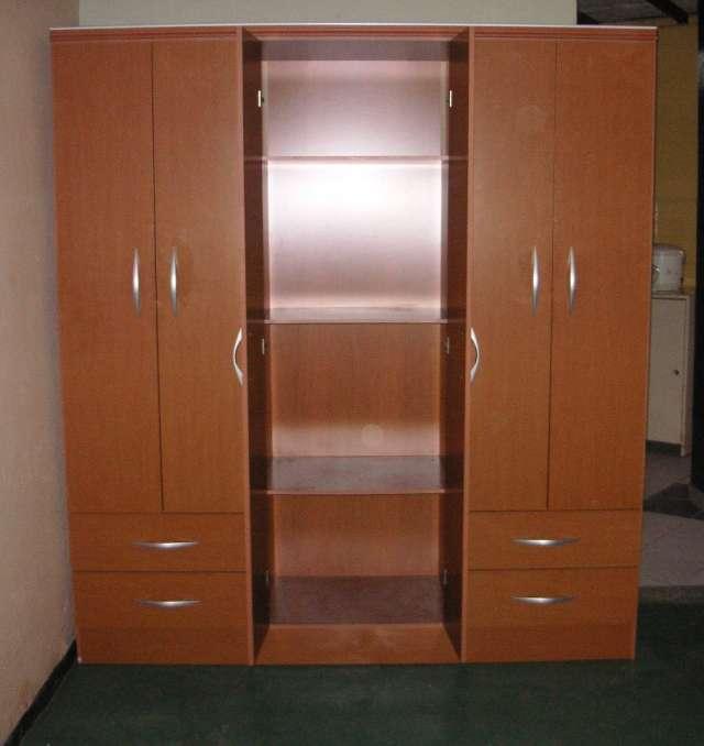 Ropero melamina imagui for Roperos de madera para dormitorios