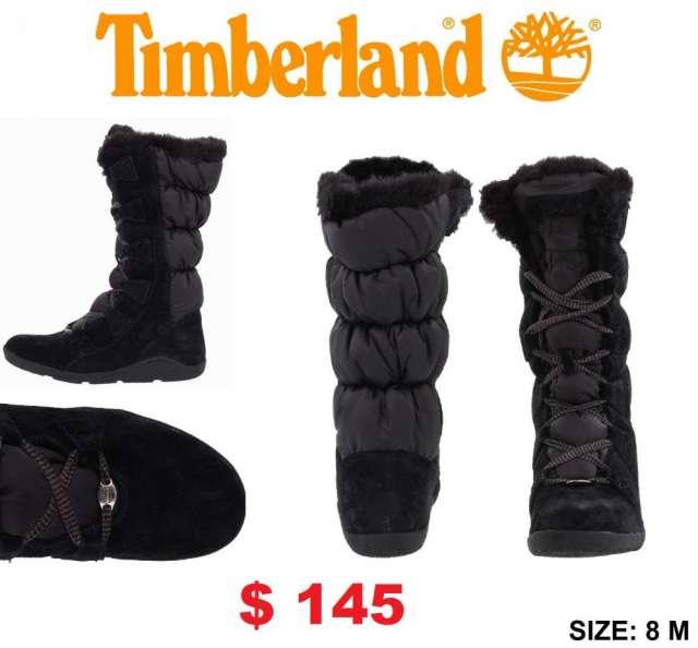 Timberland Mujer Negras